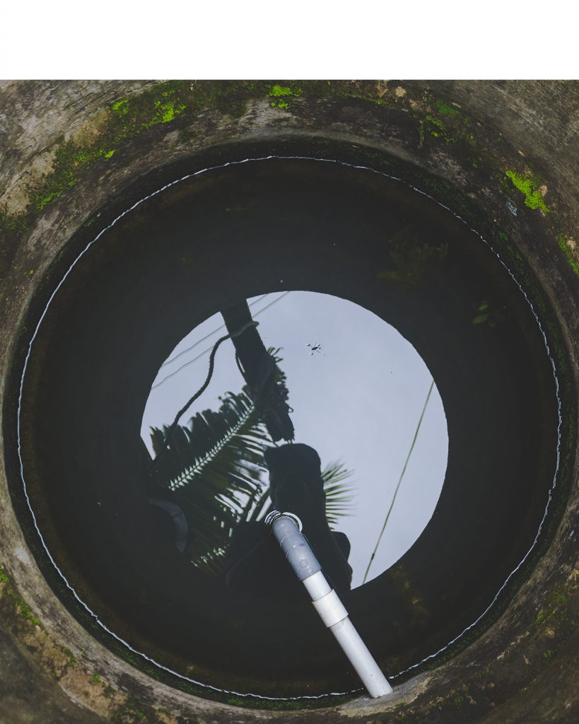 Pump in well
