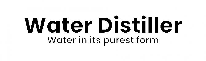 Water Distiller text