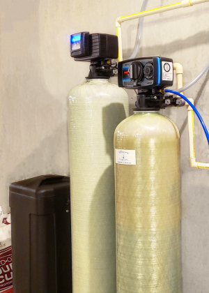 Water Softener with Centaur Carbon System