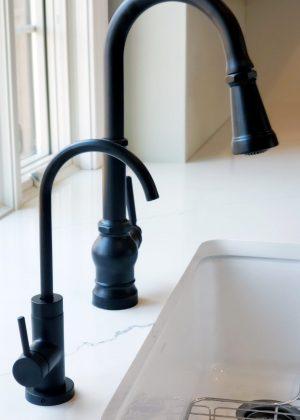 Black RO Faucet