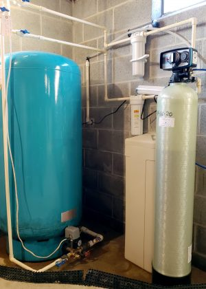 Single Tank Softener with Pressure Tank