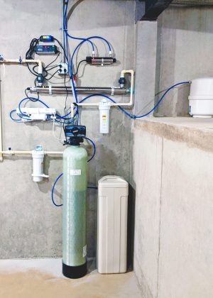 Single Tank Softener, UB Light, and Filters