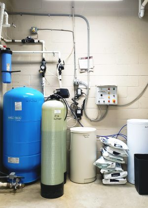 Twin Tank Softener with Brine tank